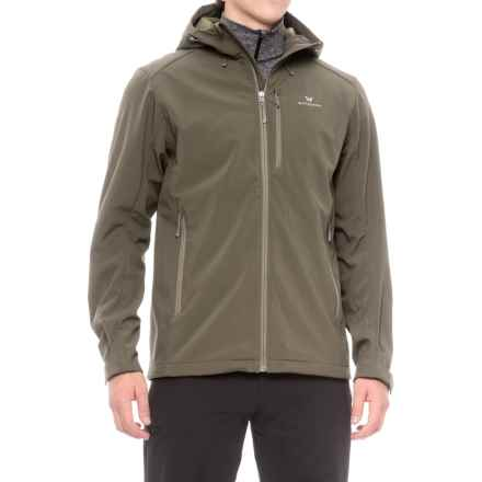 White Sierra New Moon Soft Shell Jacket (For Men) in Dark Sage - Closeouts