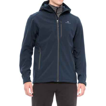 White Sierra New Moon Soft Shell Jacket (For Men) in Navy Ii - Closeouts