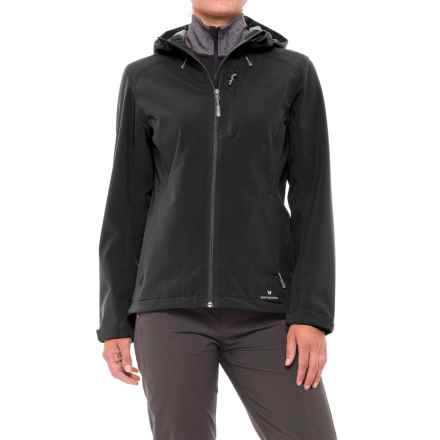 White Sierra New Moon Soft Shell Jacket (For Women) in Black - Closeouts