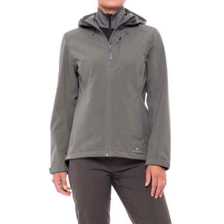 White Sierra New Moon Soft Shell Jacket (For Women) in Castlerock - Closeouts