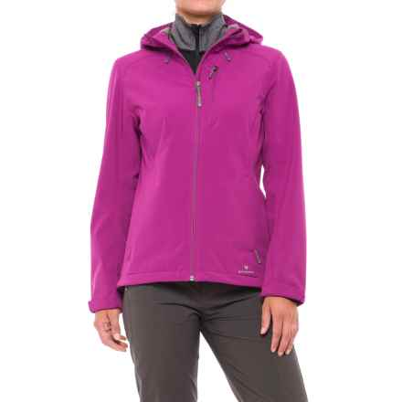 White Sierra New Moon Soft Shell Jacket (For Women) in Clover - Closeouts
