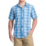 White Sierra Ningaloo Plaid Shirt - UPF 30+, Short Sleeve (For Men)