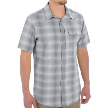 White Sierra Ningaloo Shirt - Short Sleeve (For Men) in Tradewinds - Closeouts