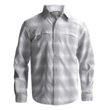White Sierra Ningaloo Shirt - UPF 30, Long Sleeve (For Little and Big Boys) in Tradewinds - Closeouts