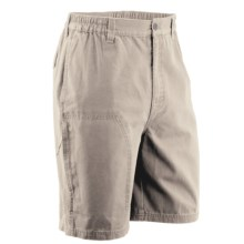White Sierra Northridge Canvas Shorts (For Men) in Stone - Closeouts