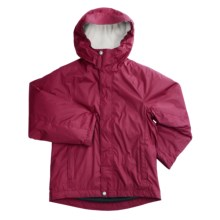 White Sierra Nose Slide Jacket (For Girls) in Sangria - Closeouts