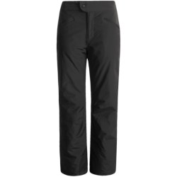 White Sierra Nylon Slider Pants - Waterproof, Insulated (For Women) in Cloud