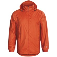 White Sierra Paradise Cove Wind Jacket (For Men) in Butn Orange - Closeouts