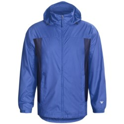 White Sierra Paradise Cove Wind Jacket (For Men) in Bark