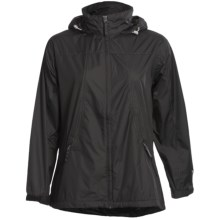 White Sierra Paradise Cove Wind Jacket - Windproof (For Women) in Black - Closeouts