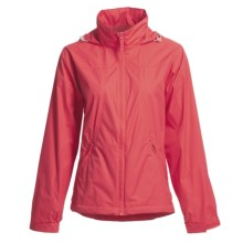 White Sierra Paradise Cove Wind Jacket - Windproof (For Women) in Lipstick - Closeouts