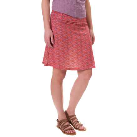White Sierra Pariscope Skirt (For Women) in Grape - Closeouts