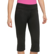 White Sierra Paulucci Yoga Capris (For Women) in Black - Closeouts