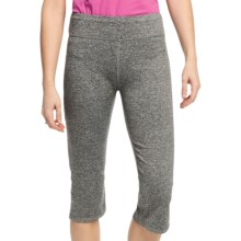 White Sierra Paulucci Yoga Capris (For Women) in Heather Grey - Closeouts