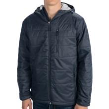 White Sierra Peak Jacket - Insulated (For Men) in Titanium - Closeouts