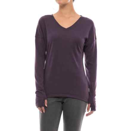 White Sierra Pebble Peak Shirt - Long Sleeve (For Women) in Nightshade - Closeouts