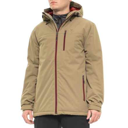 White Sierra Pine Springs Jacket - Insulated (For Men) in Bark - Closeouts