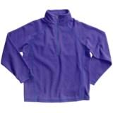 White Sierra Pinnacle Fleece Jacket - Zip Neck (For Boys and Girls)