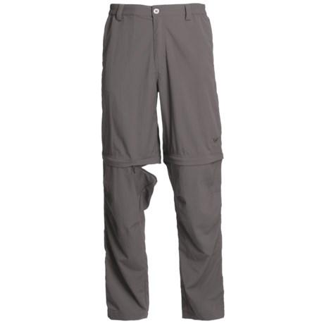 White Sierra Point Convertible Pants - UPF 30 (For Men) in Arrowhead
