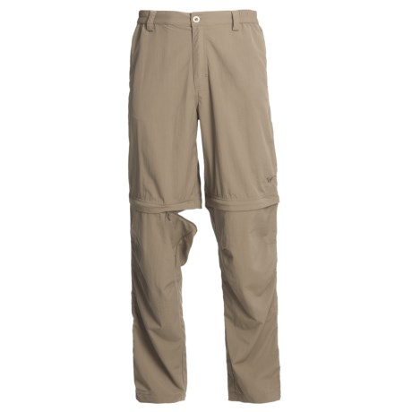 White Sierra Point Convertible Pants - UPF 30 (For Men) in Arrowhead