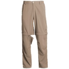 White Sierra Point Convertible Pants - UPF 30 (For Men) in Khaki - Closeouts