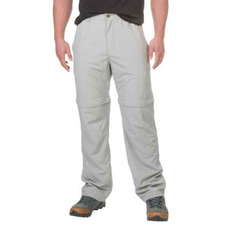 White Sierra Point Convertible Pants - UPF 30 (For Men) in Limestone - Closeouts