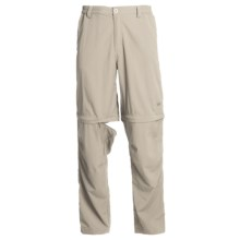 White Sierra Point Convertible Pants - UPF 30 (For Men) in Stone - Closeouts