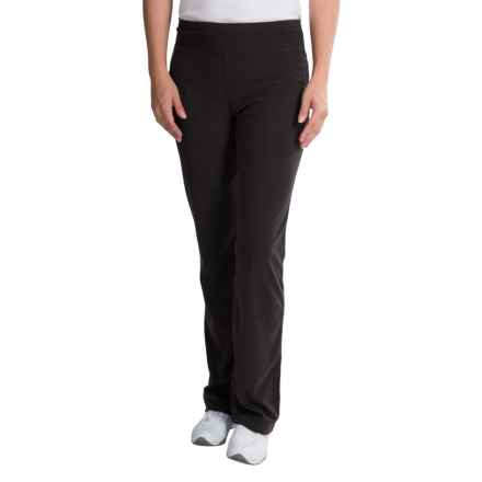 WHITE SIERRA PONDEROSA MICROTEK FLEECE PANTS (FOR WOMEN) in Black - Closeouts