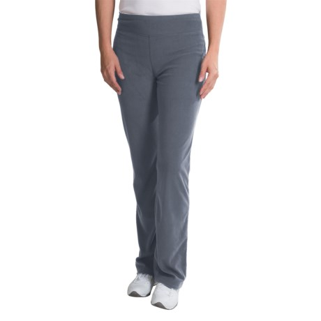 WHITE SIERRA PONDEROSA MICROTEK FLEECE PANTS (FOR WOMEN) in Titanium