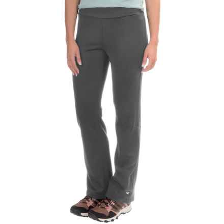 White Sierra Power Fleece Pants (For Women) in Asphalt - Closeouts