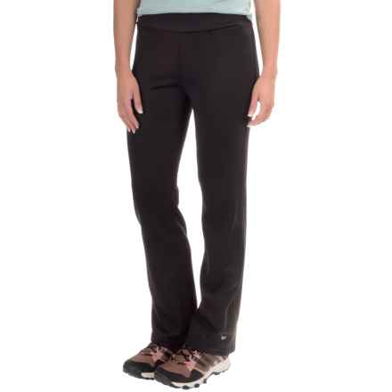 White Sierra Power Fleece Pants (For Women) in Black - Closeouts