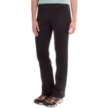 White Sierra Power Pants - Fleece Lining (For Women) in Black - Closeouts