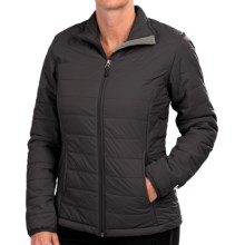 White Sierra Puffy Peak Jacket (For Women) in Black - Closeouts
