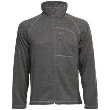 White Sierra Pyramid Peak Jacket (For Men) in Caviar - Closeouts