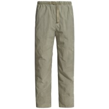 White Sierra Quick-Dry Nylon Pants - UPF 30 (For Men) in New Sage - Closeouts