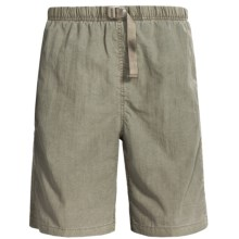White Sierra Quick-Dry Nylon Shorts - UPF 30 (For Men) in New Sage - Closeouts