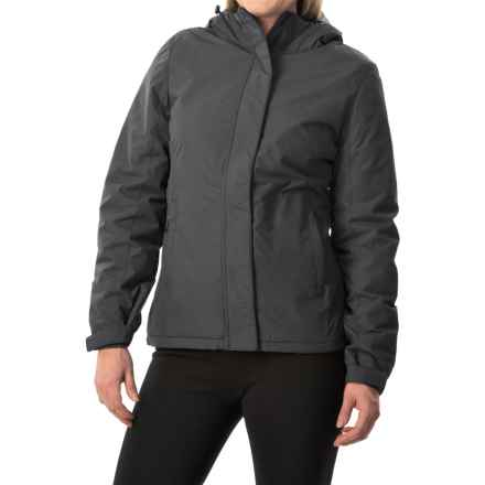 White Sierra Rainier Jacket - Waterproof, Insulated (For Women) in Black - Closeouts