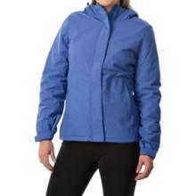 White Sierra Rainier Jacket - Waterproof, Insulated (For Women) in Blues - Closeouts
