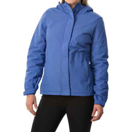 White Sierra Rainier Jacket - Waterproof, Insulated (For Women) in Blues - Closeouts