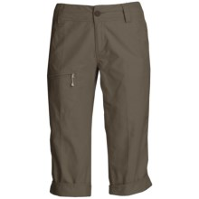 White Sierra Ridgecrest Capri Pants - UPF 15 (For Women) in Cigar - Closeouts