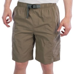 White Sierra River Trek Shorts (For Men) in Bark