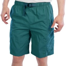 White Sierra River Trek Shorts (For Men) in Dark Biscay Bay - Closeouts