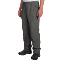 White Sierra Rocky Ridge II Pants - UPF 30 (For Men) in Caviar - Closeouts