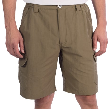 White Sierra Rocky Ridge Shorts (For Men) in Bark