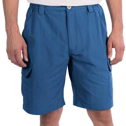 White Sierra Rocky Ridge Shorts (For Men) in Dark Blue - Closeouts