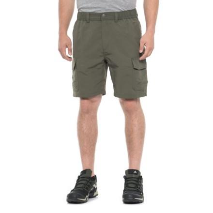 9a1e732d72697 White Sierra Rocky Ridge Shorts (For Men) in Dark Olive - Closeouts