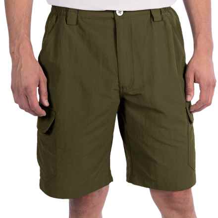 White Sierra Rocky Ridge Shorts (For Men) in Dark Sage - Closeouts