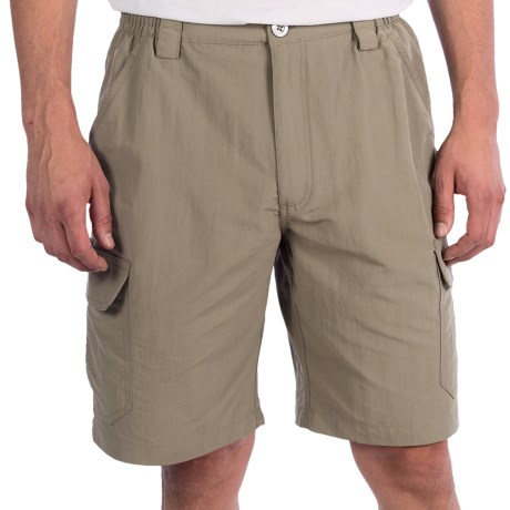 White Sierra Rocky Ridge Shorts (For Men) in Khaki