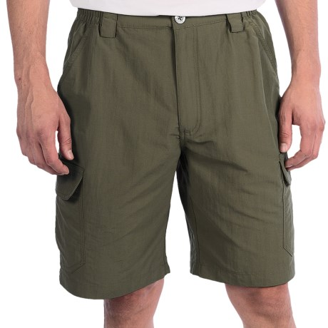 White Sierra Rocky Ridge Shorts (For Men) in Sage