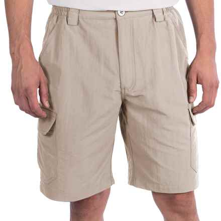 White Sierra Rocky Ridge Shorts (For Men) in Sand - Closeouts